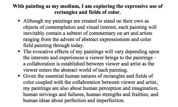 Artist statement new - 4 sentence-bold-plain